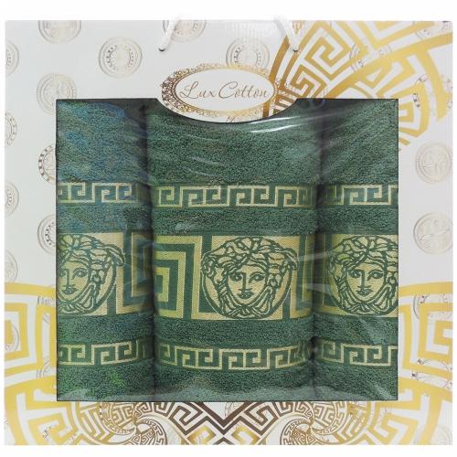 Медуза Gulcan DNZ / Полотенца в коробке, 3 шт. 50*90, 70*140, 50*90 см