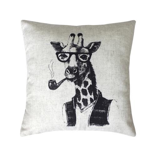 Жираф Bibop / Декоративная наволочка, 40*40 см