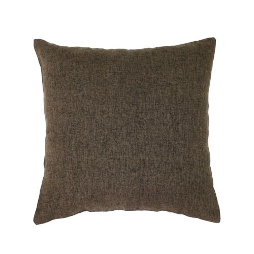 Melange коричневый / Декоративная наволочка, 40*40 см