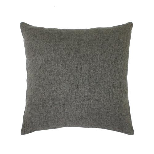 Melange серо-коричневый / Декоративная наволочка, 40*40 см