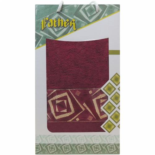 Ifather Gulcan DNZ / Полотенце в коробке, 1 шт. 70*140 см