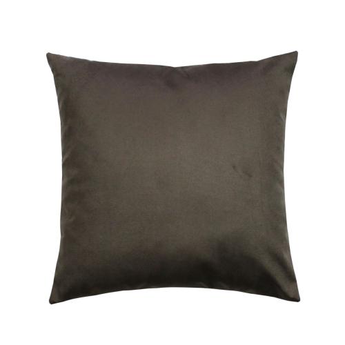 Aria тёмно-коричневый / Декоративная наволочка, 40*40 см