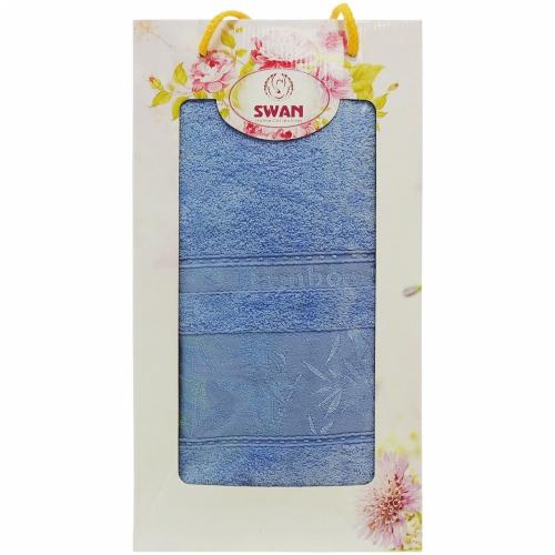 Bamboo Swan / Полотенце бамбуковое в коробке, 1 шт. 70*140 см