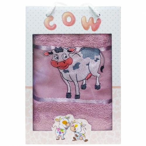 COW Gulcan DNZ / Махровое полотенце в коробке, 50*90 см