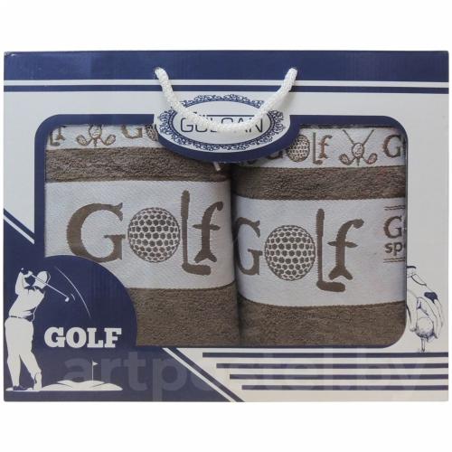 Golf Gulcan DNZ / Полотенца в коробке, 2 шт. 50*90 и 70*140 см