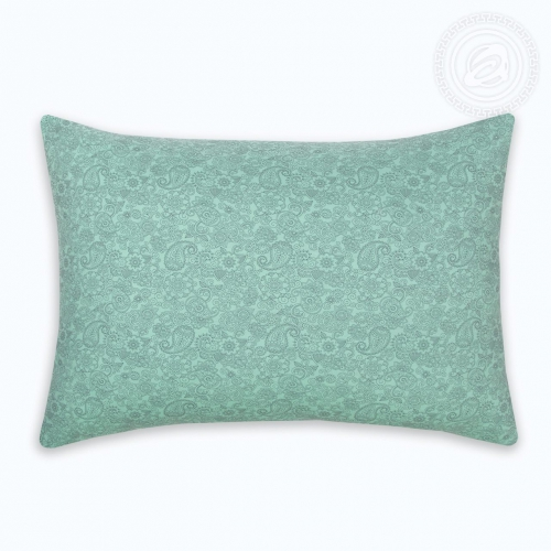 Ажур зелёный / Комплект наволочек из 2 шт. на молнии, 50*70 см