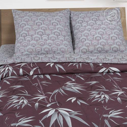 Бамбук / Комплект 2-спальный с простынёй Евро
