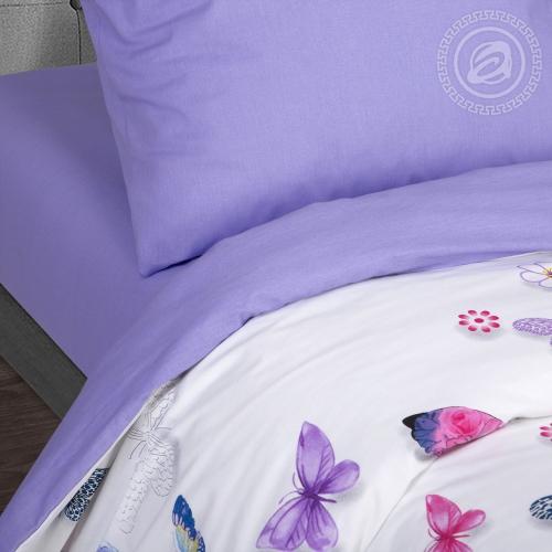 Батерфляй / Комплект 2-спальный с простынёй Евро
