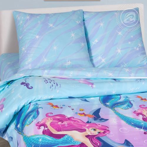 Дельфин и русалка / Комплект 1,5-спальный