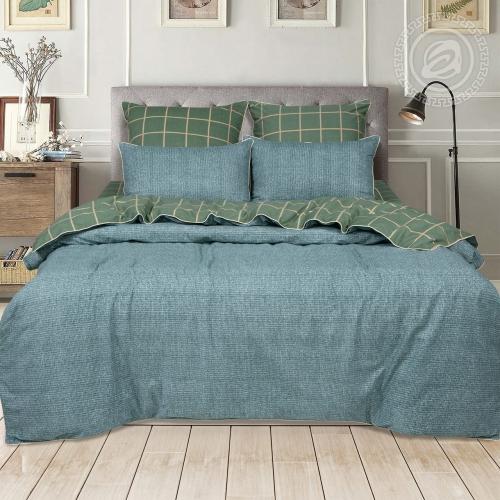 Дени / Комплект 2-спальный с простыней Евро