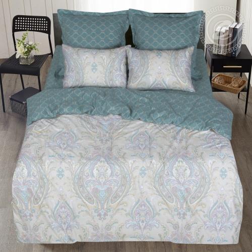 Есения / Комплект 2-спальный с простынёй Евро
