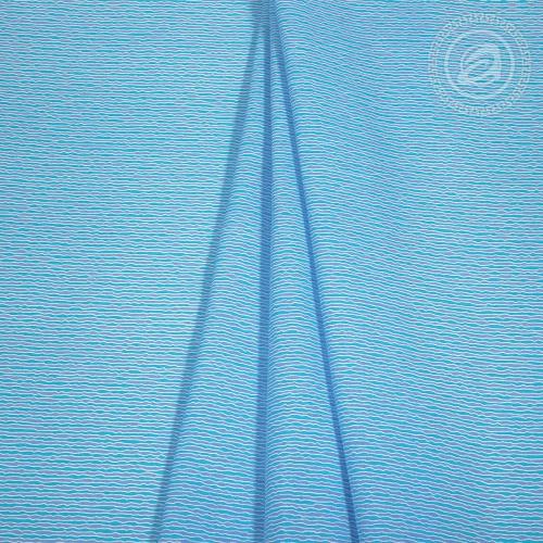 Голубая лагуна / Комплект 2-спальный с простынёй Евро