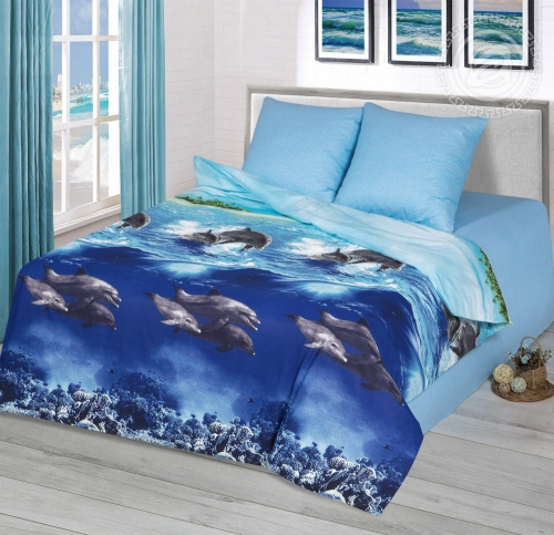 Голубая лагуна / Комплект 1,5-спальный