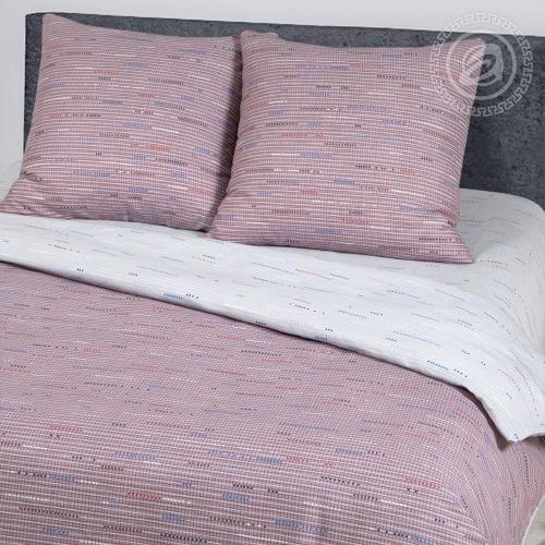 Колорит сливовый / Комплект 2-спальный с простынёй Евро