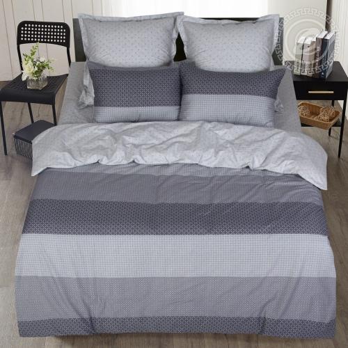 Лео / Комплект 2-спальный с простынёй Евро