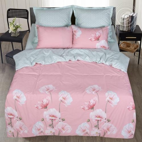 Магия цветов / Комплект 2-спальный с простынёй Евро