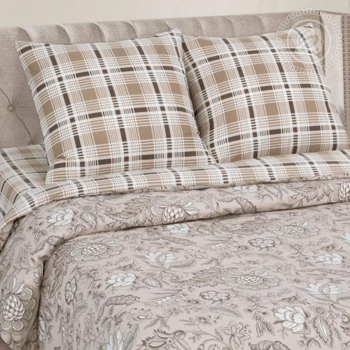 Ода / Комплект 2-спальный с простынёй Евро