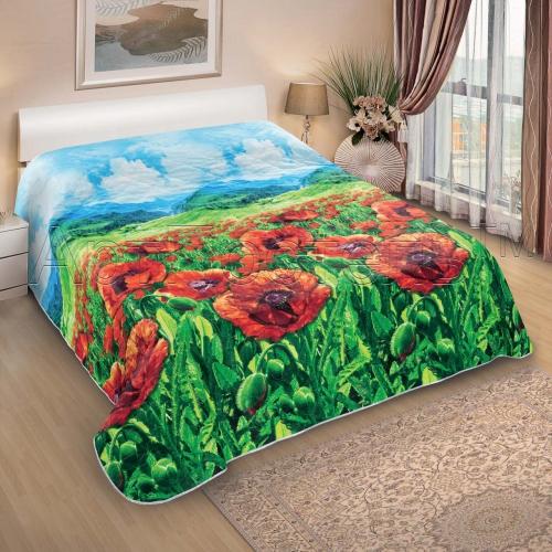"""Одеяло-покрывало стёганое 260*215 """"..."""