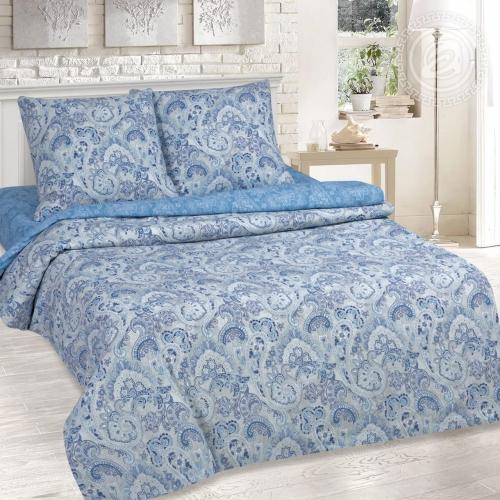 Сапфир / Комплект 2-спальный с простынёй Евро