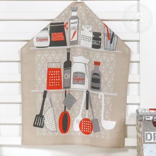 Время есть / Комплект кухонных полотенец, 3 шт.